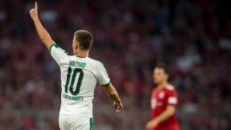 Gelandang serang Borussia Moenchengladbach, Thorgan Hazard