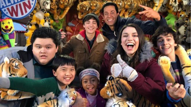 Para pemain film Shazam.