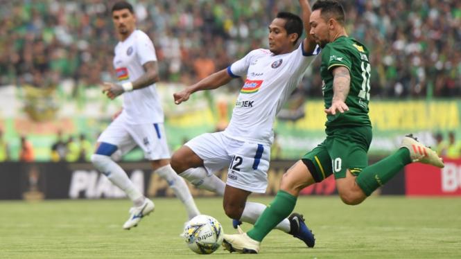 Final Piala Presiden Persebaya vs Arema