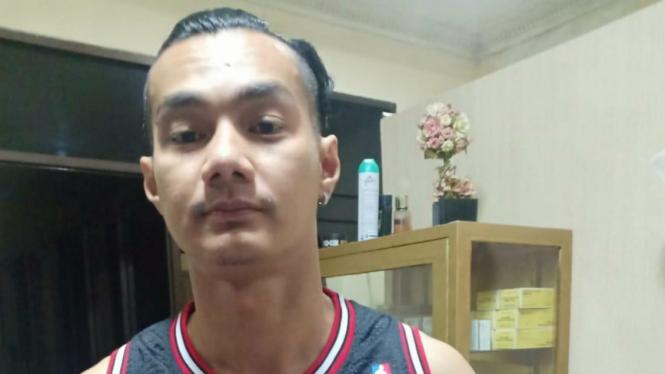 Pemain FTV, Agung Saudaga terciduk narkoba.