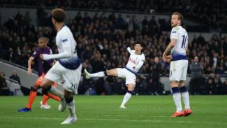 Pertandingan Tottenham Hotspur kontra Manchester City di ajang Liga Champions