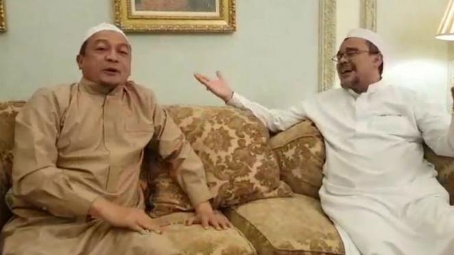 Ustaz Bachtiar Nasir dan Habib Rizieq