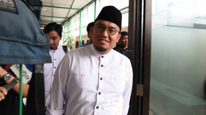 Koordinator Juru Bicara Badan Pemenangan Nasional (BPN) Prabowo-Sandiaga Uno, Dahnil Anzar.