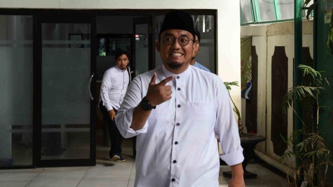 Koordinator Juru Bicara Badan Pemenangan Nasional (BPN) Prabowo-Sandiaga, Dahnil Anzar.