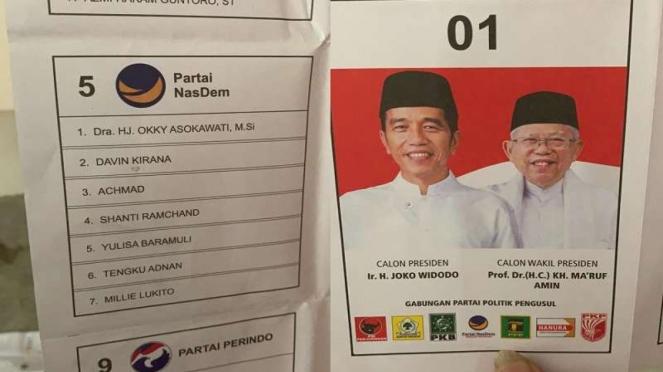 Ditemukan surat suara untuk Pilpres dan Pileg 2019 sudah dicoblos di Malaysia