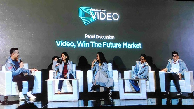 Panel diskusi Video, Win The Future Market