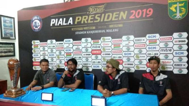 Perwakilan Anggota SC Piala Presiden 2019.