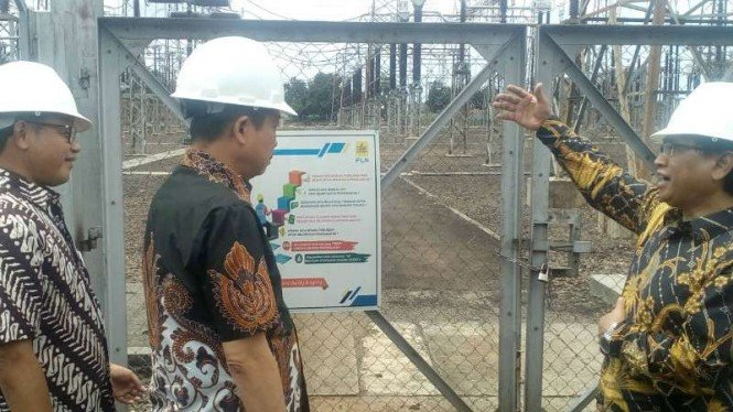 Menteri ESDM Ignasius Jonan di Depok, Jawa Barat, Jumat, 12 April 2019.
