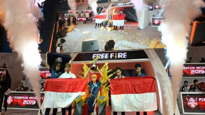 Tim eSport Indonesia juara dunia kompetisi Free Fire 2019