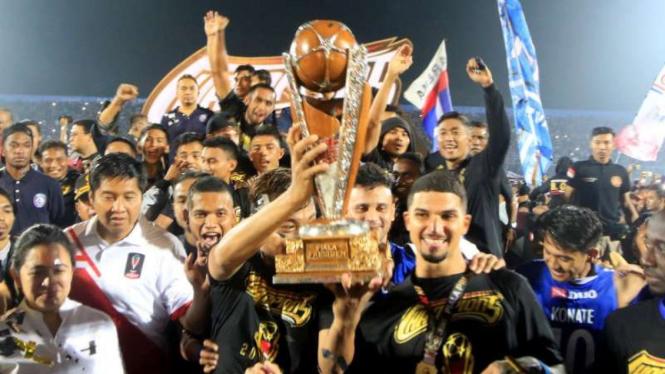 Arema FC, juara Piala Presiden 2019, akan bertandang ke markas PSS Sleman dalam laga perdana Liga 1 Musim 2019, Rabu 15 Mei.