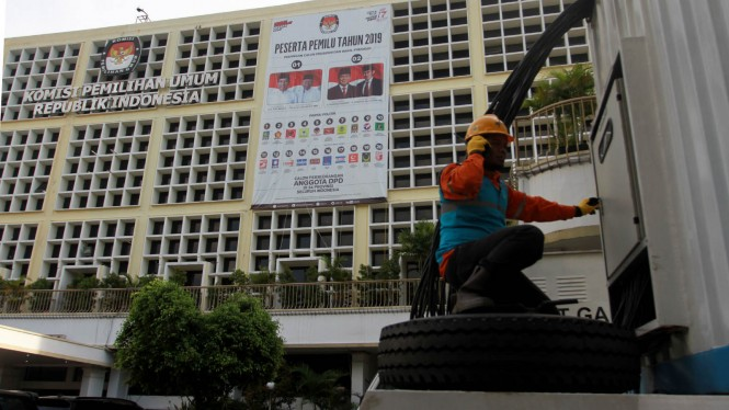 Jelang Pilpres, PLN Cek Pasokan Listrik ke KPU