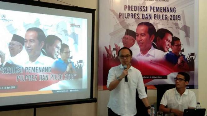 Direktur Eksekutif Charta Politika, Yunarto Wijaya.