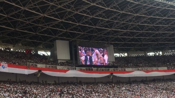 Kampanye Akbar Jokowi - Ma'ruf Amin