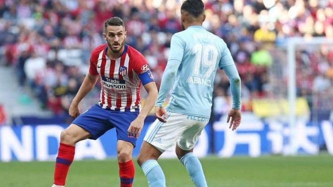 Duel Atletico Madrid vs Celta Vigo.