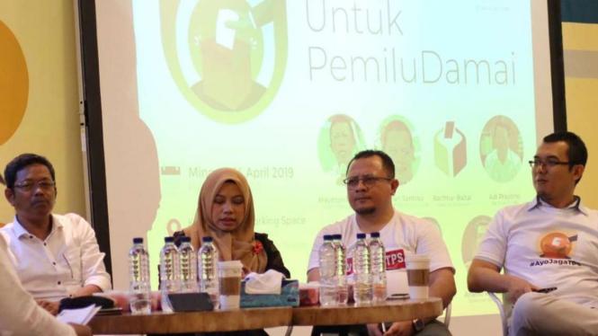Seruan AyojagaTPS di Pemilu 2019 terus disuarakan.