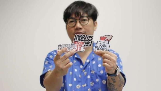 Reza Mustar, Komikus Indonesia.