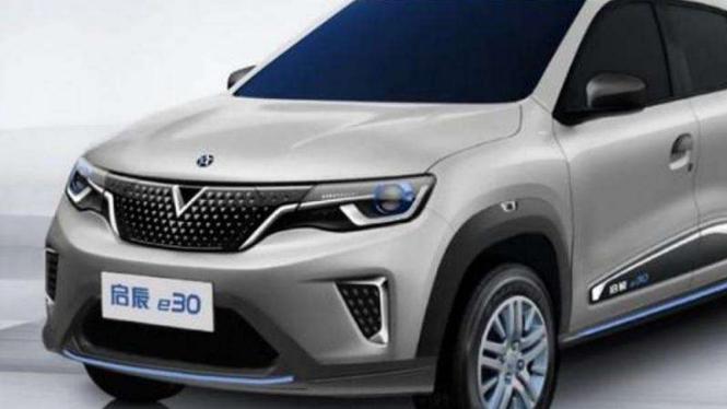 Mobil listrik kembaran Renault Kwid