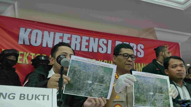 Polda Metro Jaya merilis kasus penculikan oleh pelaku Anggraini