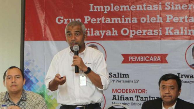 Direktur Operasi dan Produksi PT Pertamina EP, Chalid Said Salim.