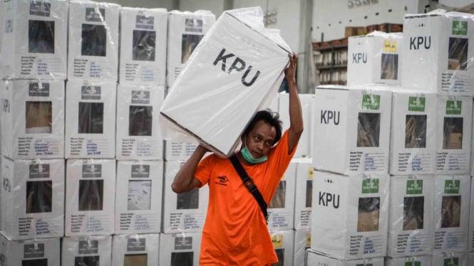 Ilustrasi kotak kosong di Pilkada.