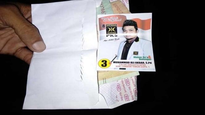 Caleg PKS ditangkap karena politik uang