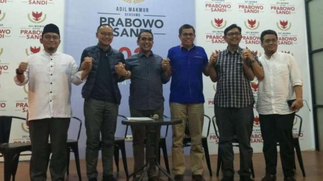 Tim Badan Pemenangan Nasional Prabowo-Sandi.