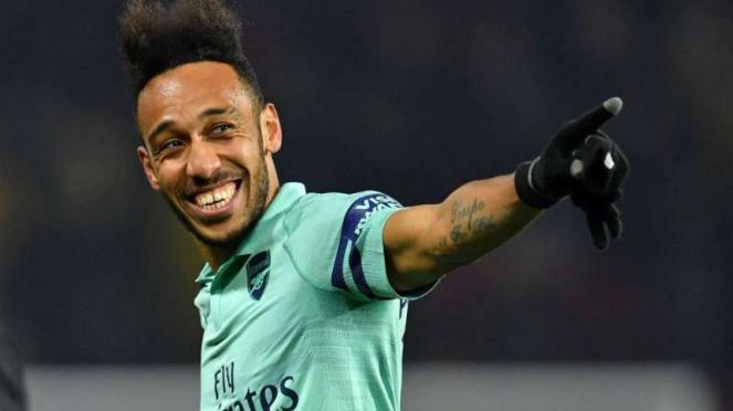 Striker Arsenal, Pierre-Emerick Aubameyang.