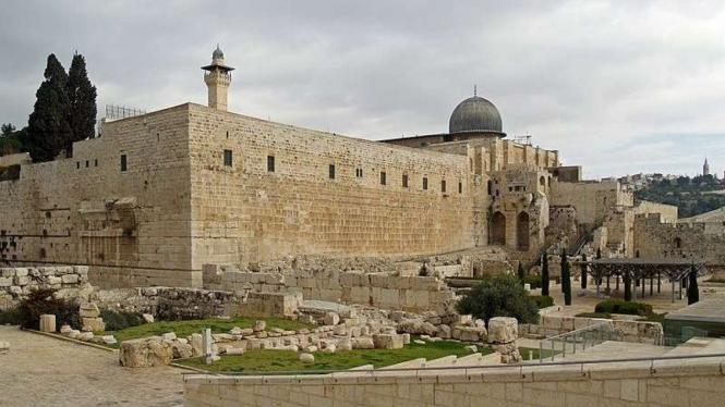 Masjid Al Aqsa di Yerusalem (foto ilustrasi)