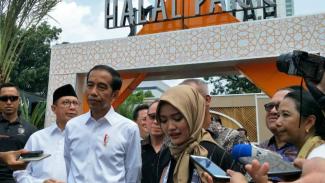 Presiden Jokowi resmikan Halal Park di Senayan.
