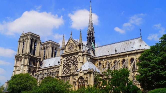 Notre Dame di Paris.