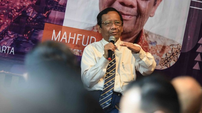 Mantan Ketua Mahkamah Konstitusi (MK), Mahfud MD