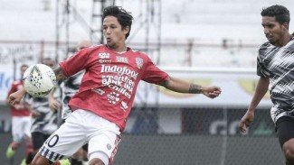 Pemain depan Bali United, Irfan Bachdim