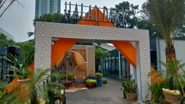 Halal Park di Gelora Bung Karno, Senayan.