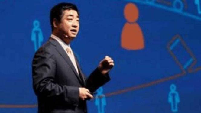 Deputy Chairman Huawei, Ken Hu.