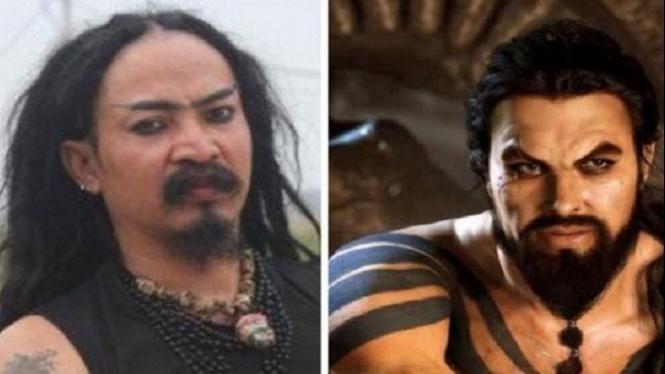 Limbad dan Khal Drogo.