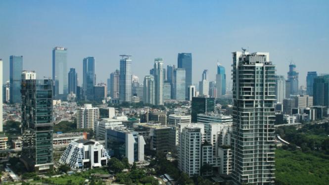 Gedung Bertingkat di Jakarta