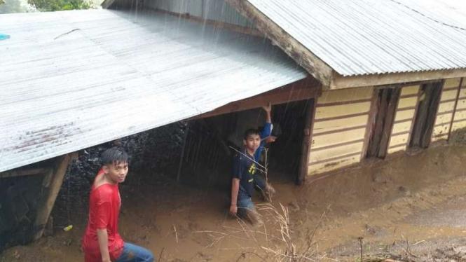 Banjir bandang di Nagari Situjuah Gadang, Kabupaten Limapuluhkota