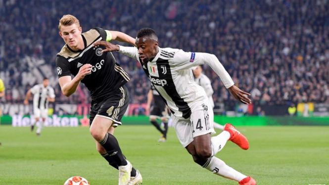Pertandingan Juventus vsAjax Amsterdam