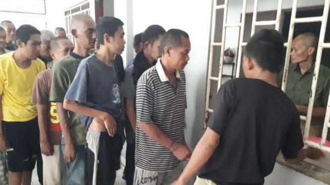 DPT orang dengan gangguan jiwa di Yayasan Galuh, Bekasi, bertambah.