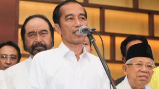 Konpres Jokowi-Ma'ruf Usai Pencoblosan