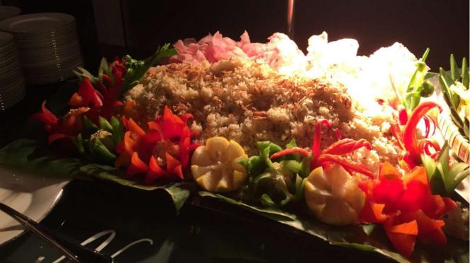 Nasi jeruk di Lobo Restaurant, The Ritz Carlton Jakarta