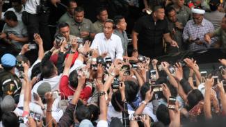 Jokowi-Ma'ruf Konpres Usai Pencoblosan