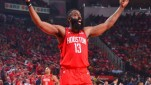 Pemain Houston Rockets, James Harden.