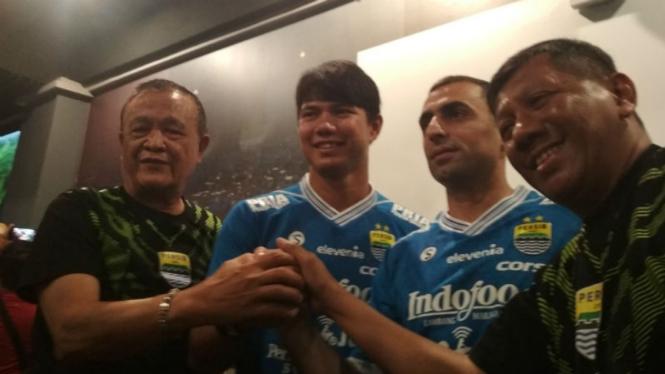 Persib Bandung rekrut kembali Achmad Jufriyanto