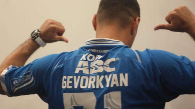 Pemain Persib Bandung, Artur Gevorkyan.