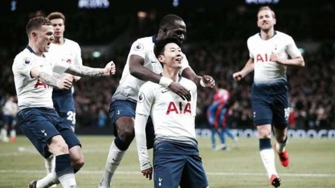 Para pemain Tottenham Hotspur.