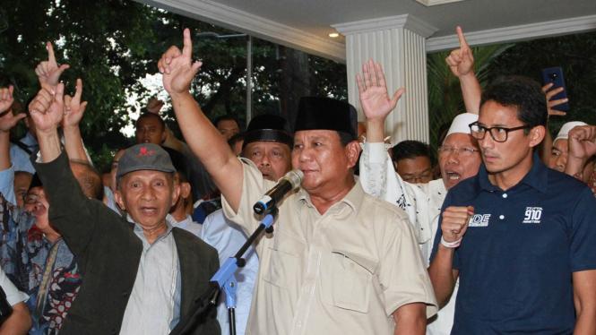 Deklarasi Kemenangan Prabowo-Sandi