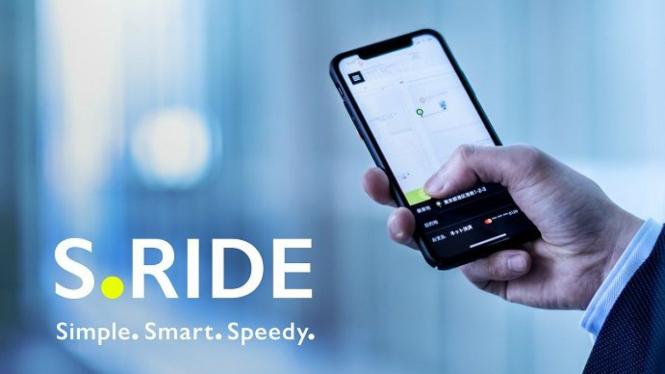 Layanan berbagi tumpangan milik Sony, S.Ride