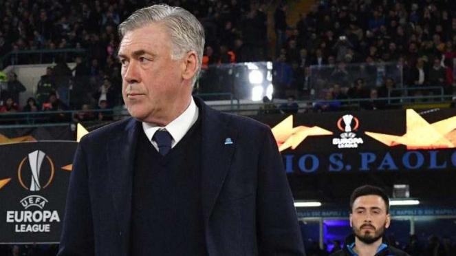 Pelatih Napoli, Carlo Ancelotti.