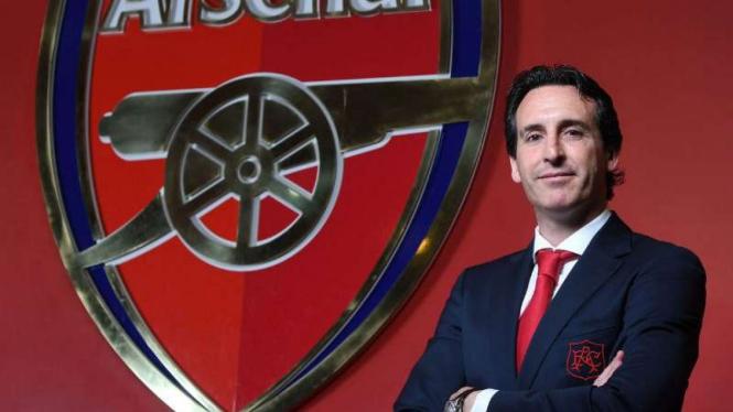 Manajer Arsenal, Unai Emery.